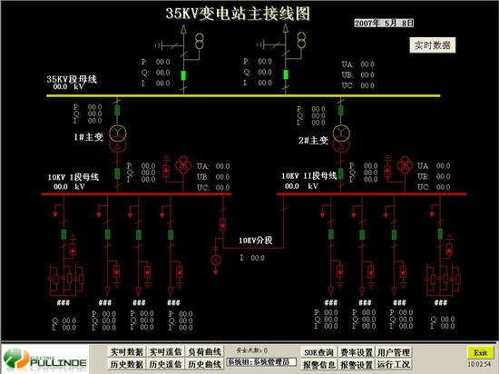 35kv变电站的主接线图画面